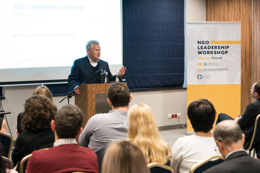 NGO Leadership Workshop – Warsaw (Poland)