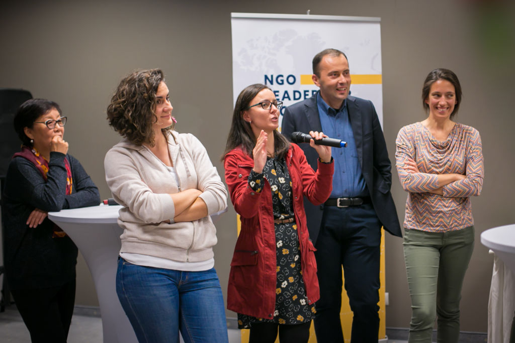 Participants at the NGO Leadership workshop