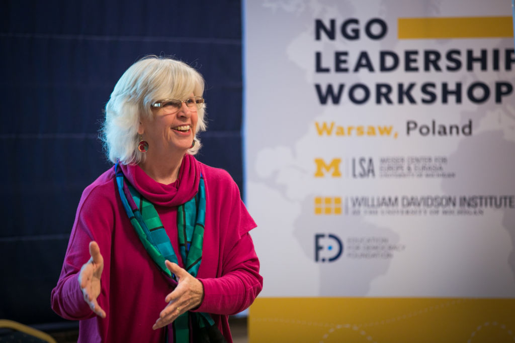 24.10.2018 _NGO Leadership Workshop – Warsaw_fot. Anna Liminowicz for FED