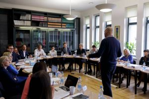WDI Faculty Affiliate John Branch facilitates the 2016 Strategic Management Program at the Stockholm School of Economics in Riga, Latvia.