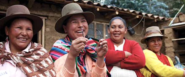Women working with Chakipi Acceso in Peru.