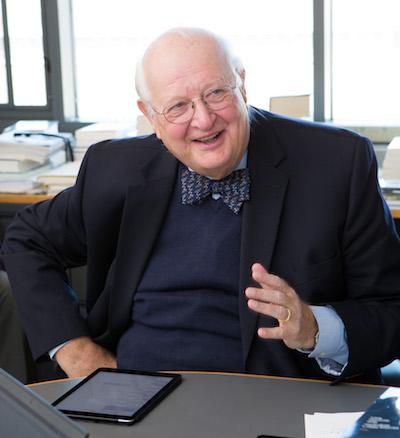 Angus Denton, Nobel Prize day, Wallace Hall