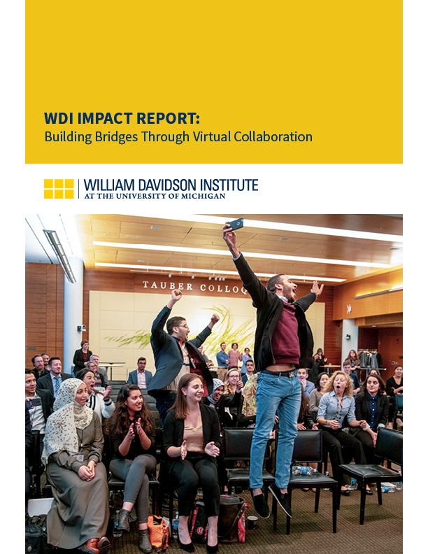 Image of cover page for the M2GATE Impact Report