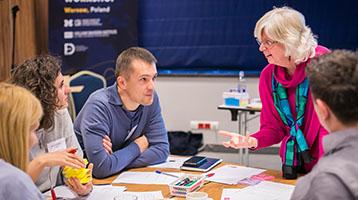 WDI led NGO Leadership Workshop in Poland