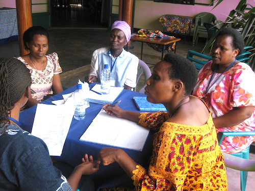A WDI training session as part of the Goldman Sachs 10,000 Women initiative.