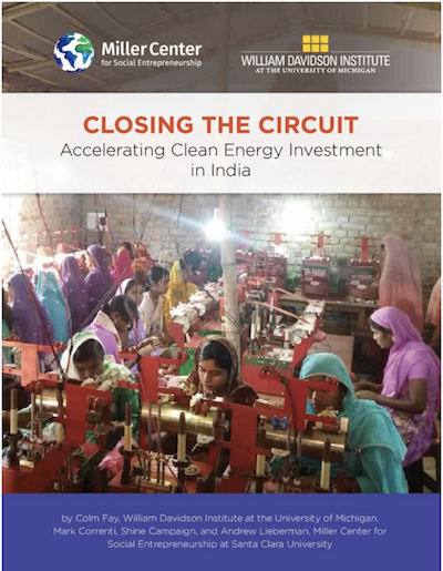 "Click on the cover image to download a PDF of ""Closing The Circuit: Accelerating Clean Energy Investment in India"""