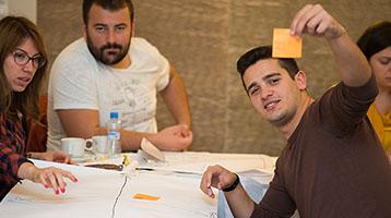 NGO leadership workshop participants