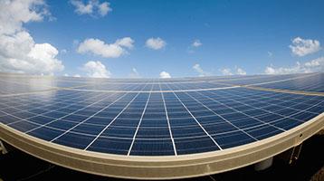Solar panel grid