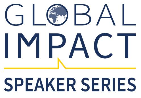 Global Impact Speaker Series logo