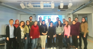 LIFE consortium partners convened in Istanbul in November 2018 for a professional development program co-led by WDI Faculty Affiliate Eric Fretz (seventh from left).